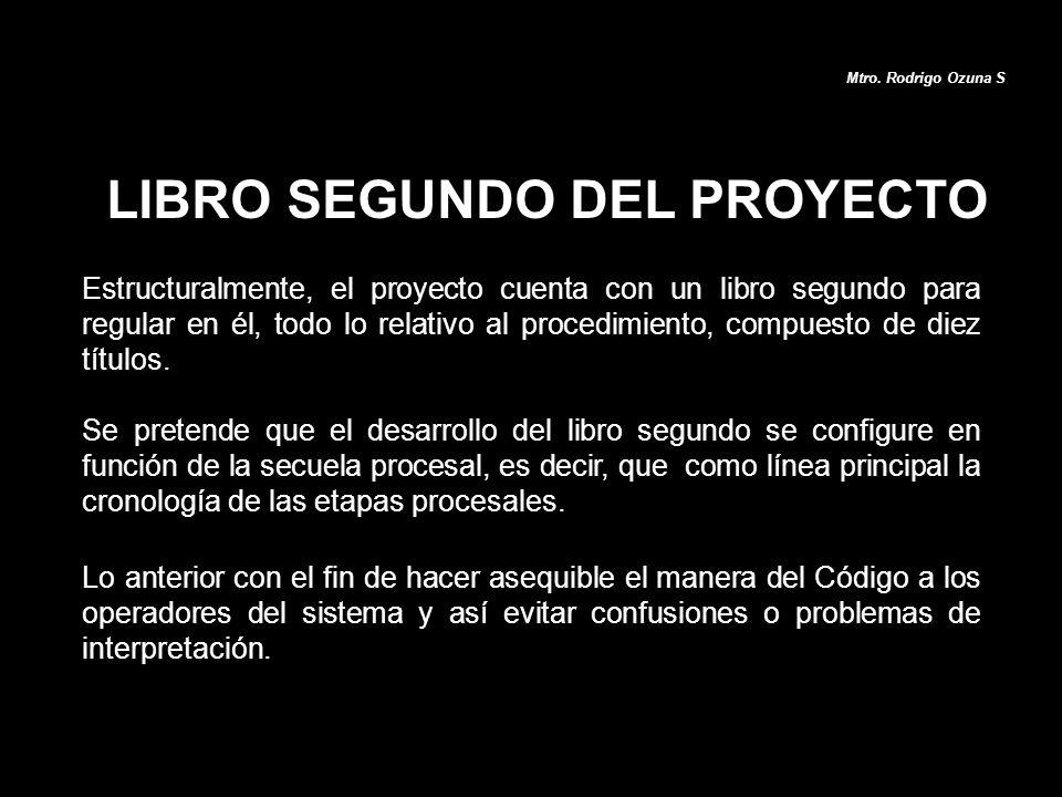LIBRO SEGUNDO DEL PROYECTO