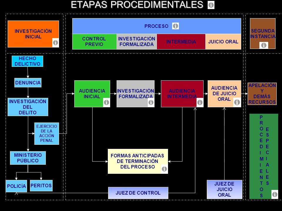 ETAPAS PROCEDIMENTALES