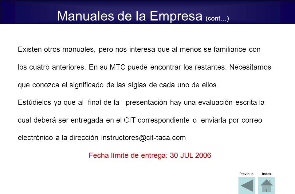 Fecha límite de entrega: 30 JUL 2006