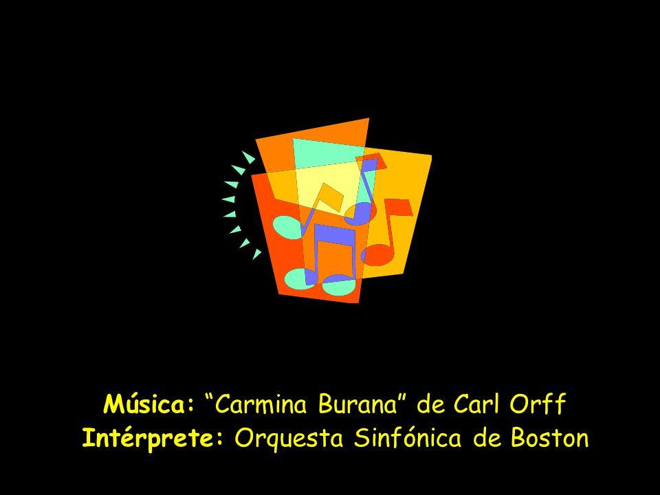 Música: Carmina Burana de Carl Orff