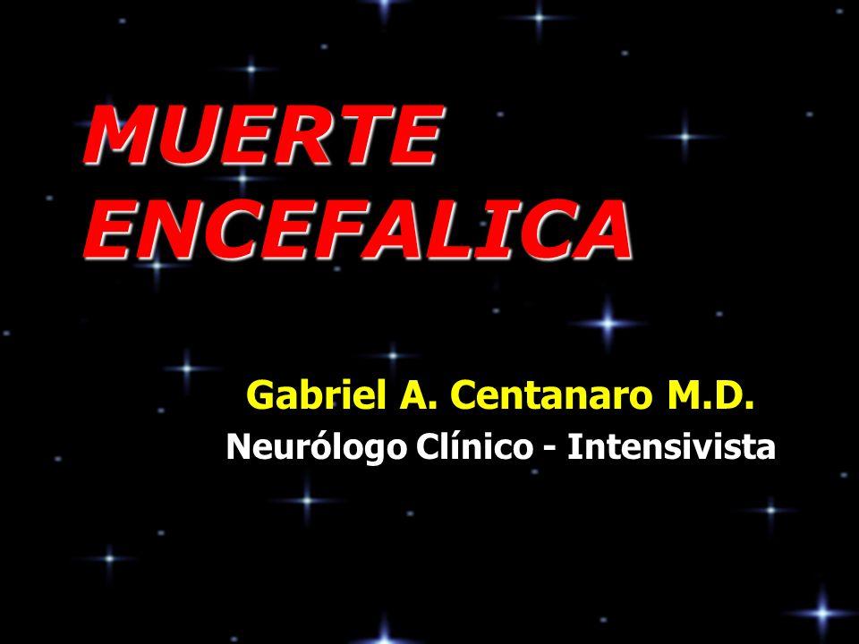 Gabriel A. Centanaro M.D. Neurólogo Clínico - Intensivista