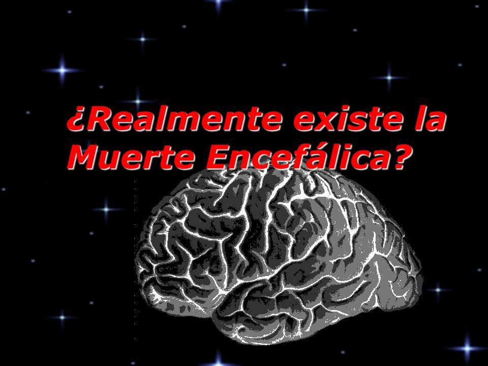 ¿Realmente existe la Muerte Encefálica