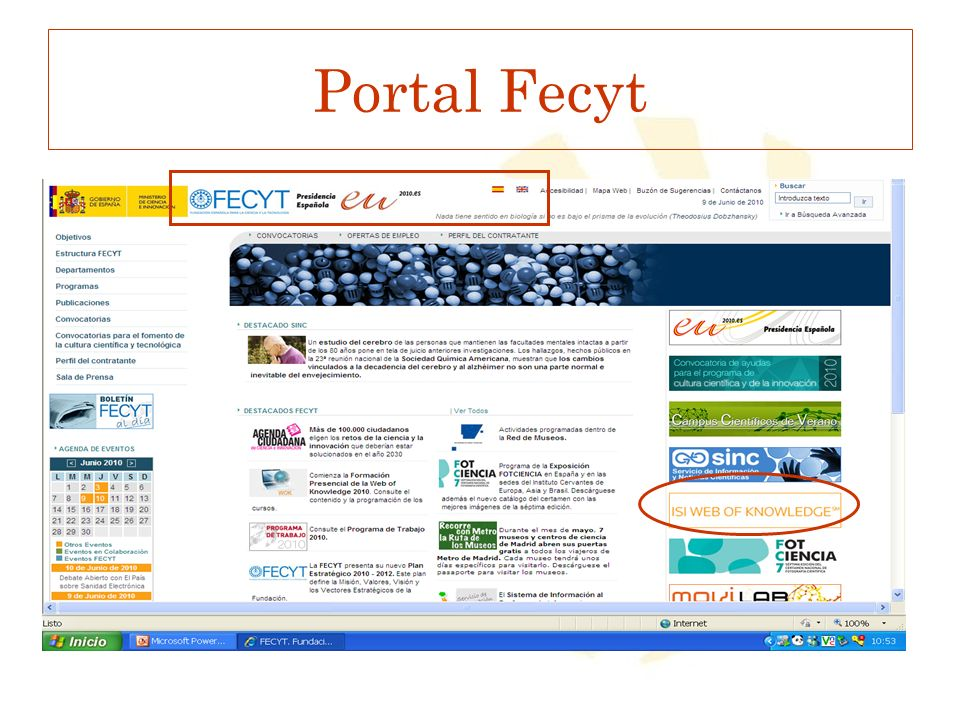 Portal Fecyt