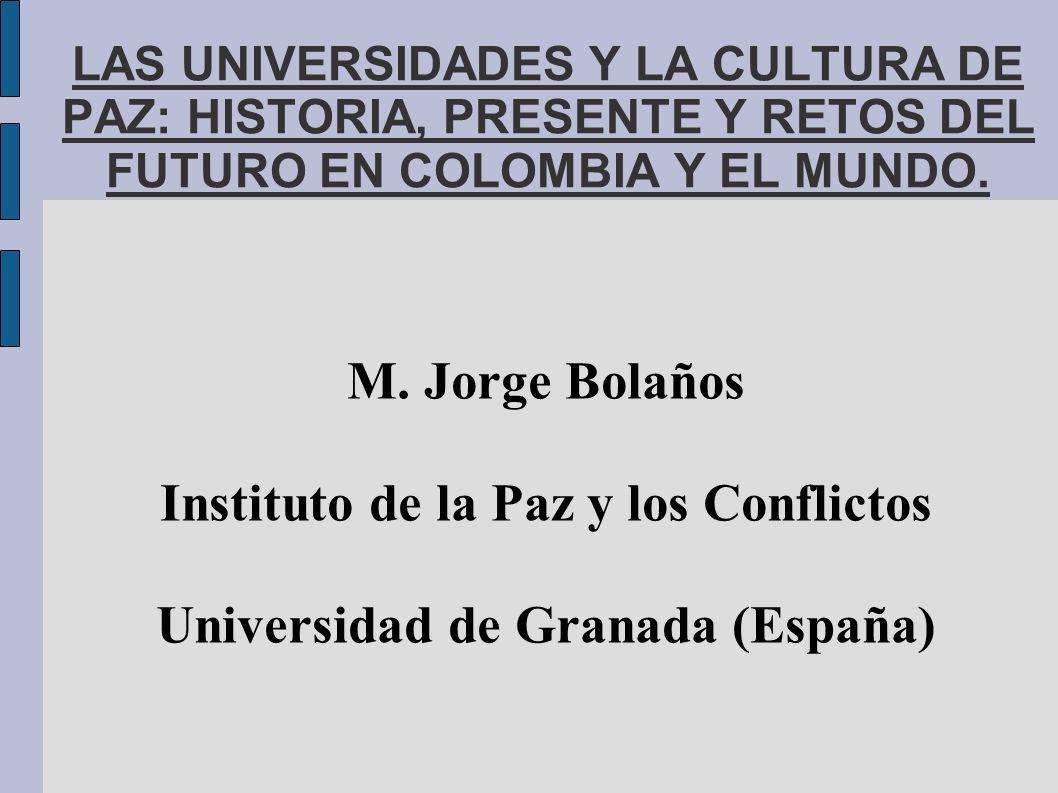 Instituto de la Paz y los Conflictos Universidad de Granada (España)