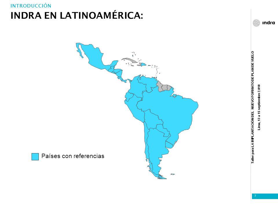 INDRA EN LATINOAMÉRICA: