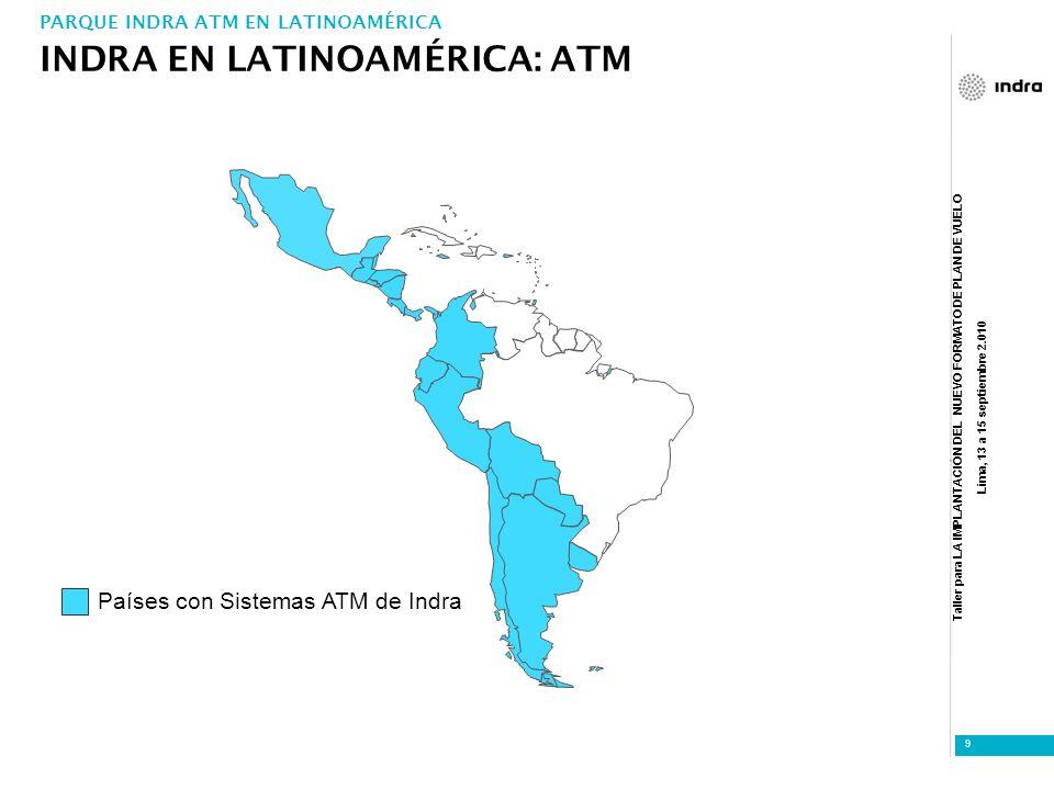 INDRA EN LATINOAMÉRICA: ATM