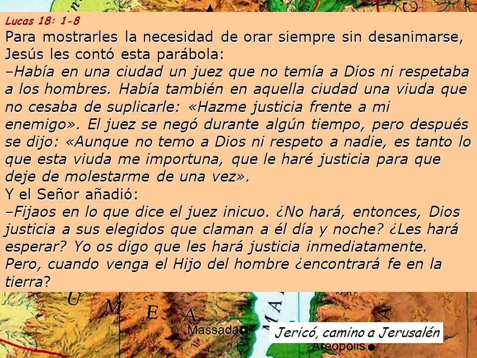 Lucas 18: 1-8