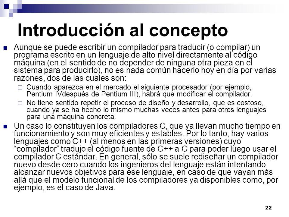 Introducción al concepto