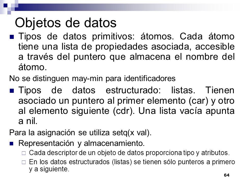 Objetos de datos
