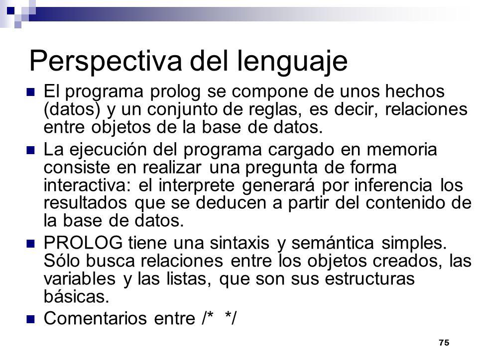 Perspectiva del lenguaje
