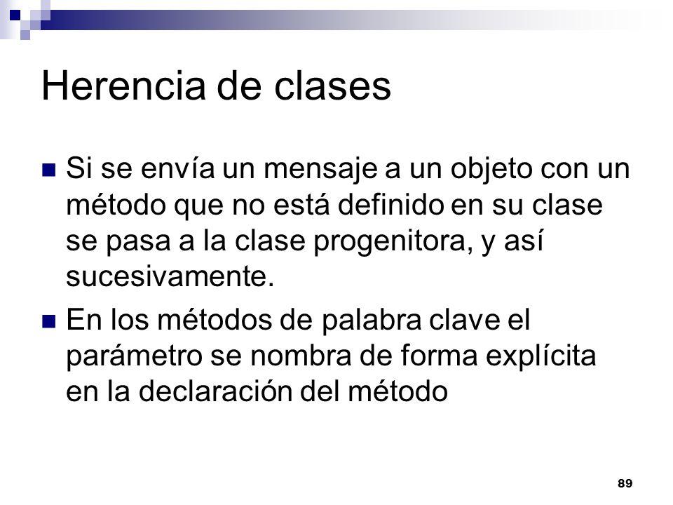 Herencia de clases