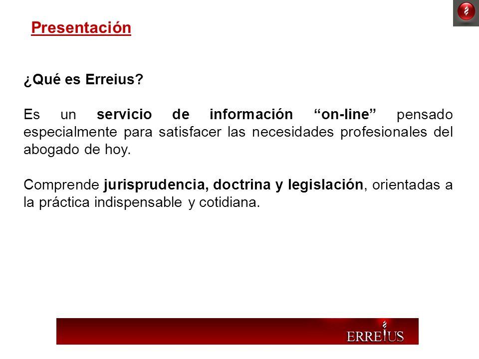 Presentación ¿Qué es Erreius