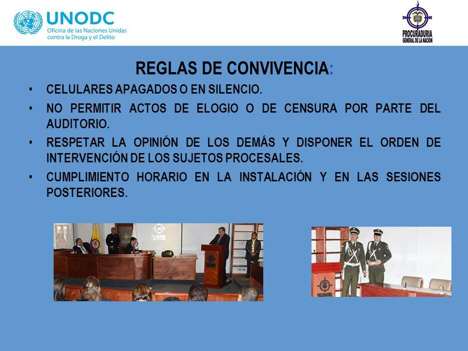REGLAS DE CONVIVENCIA: