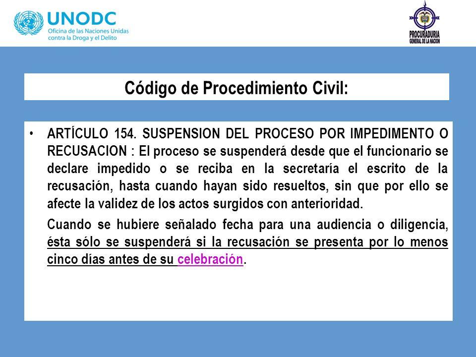 Código de Procedimiento Civil:
