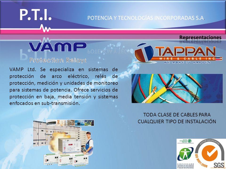 TODA CLASE DE CABLES PARA CUALQUIER TIPO DE INSTALACIÓN