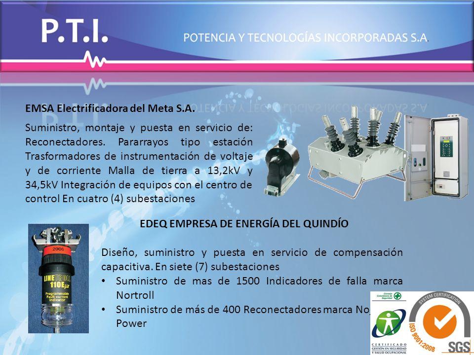 EMSA Electrificadora del Meta S.A.