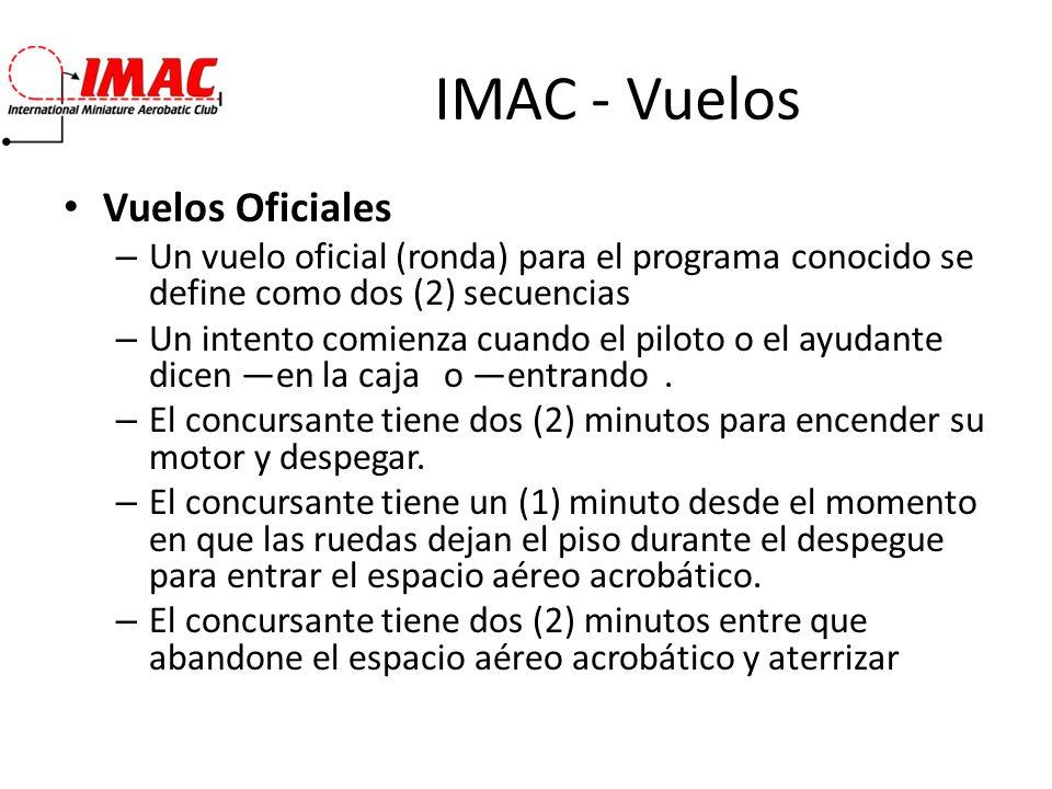 IMAC - Vuelos Vuelos Oficiales
