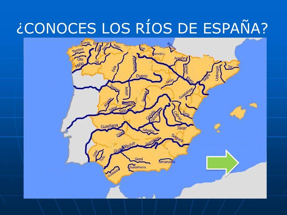 ¿CONOCES LOS RÍOS DE ESPAÑA