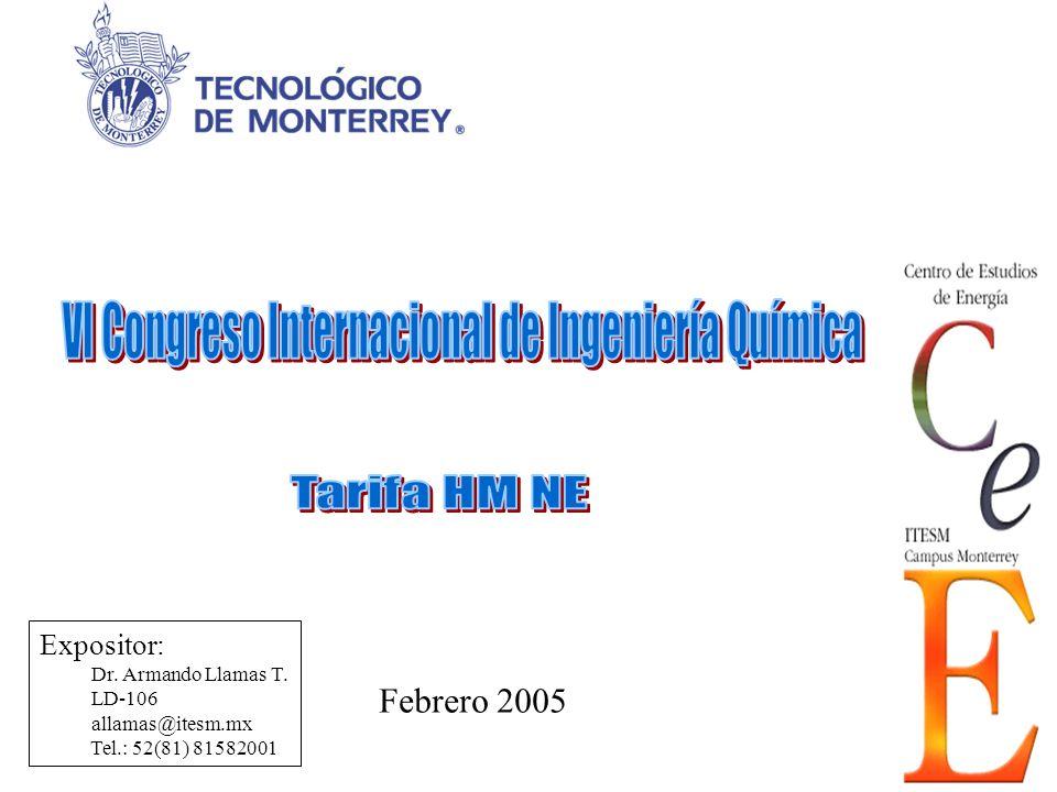 VI Congreso Internacional de Ingeniería Química