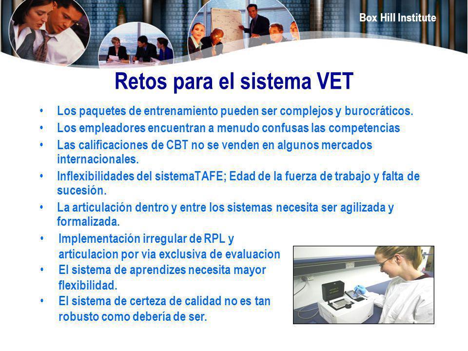 Retos para el sistema VET