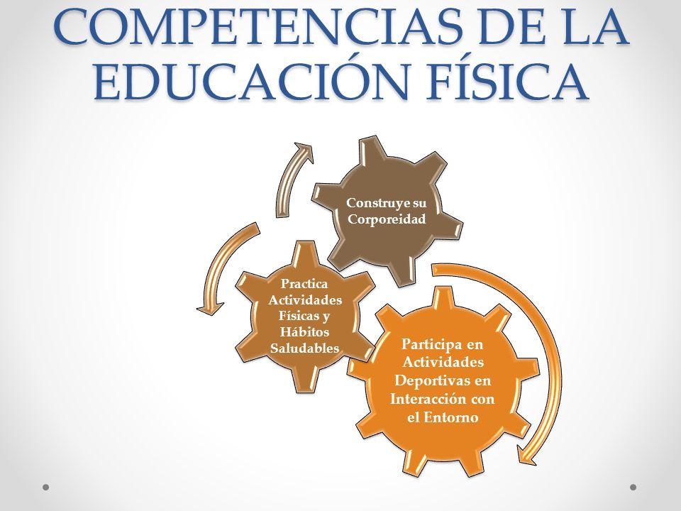 COMPETENCIAS DE LA EDUCACIÓN FÍSICA