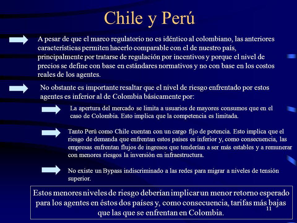 Chile y Perú