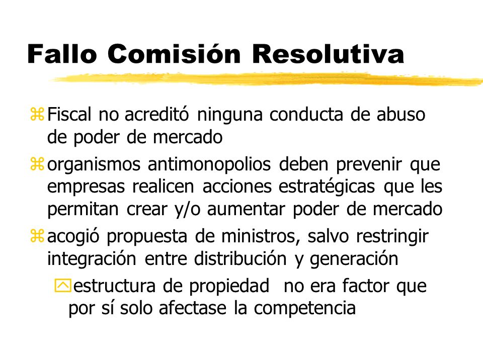 Fallo Comisión Resolutiva