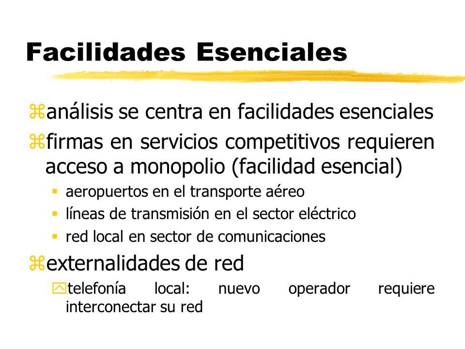 Facilidades Esenciales