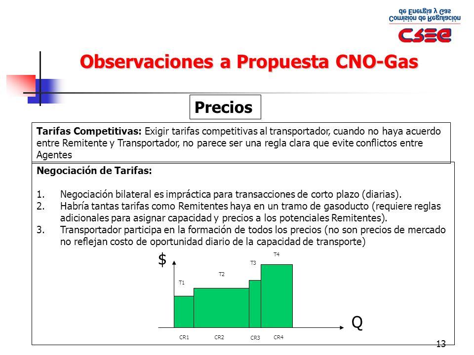 Observaciones a Propuesta CNO-Gas