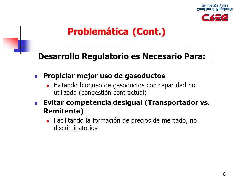 Desarrollo Regulatorio es Necesario Para: