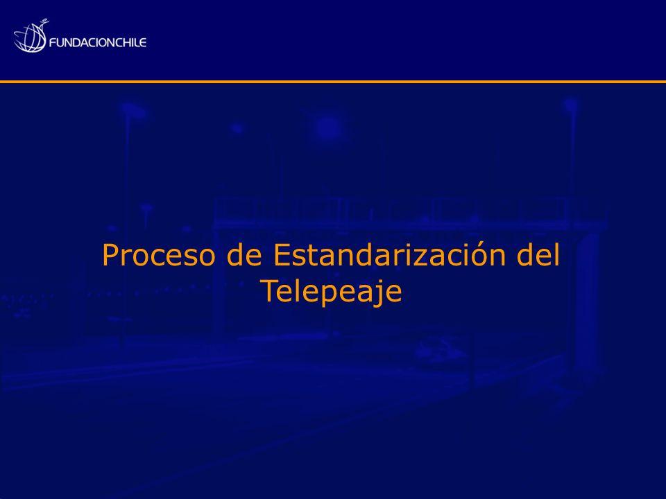 Proceso de Estandarización del Telepeaje