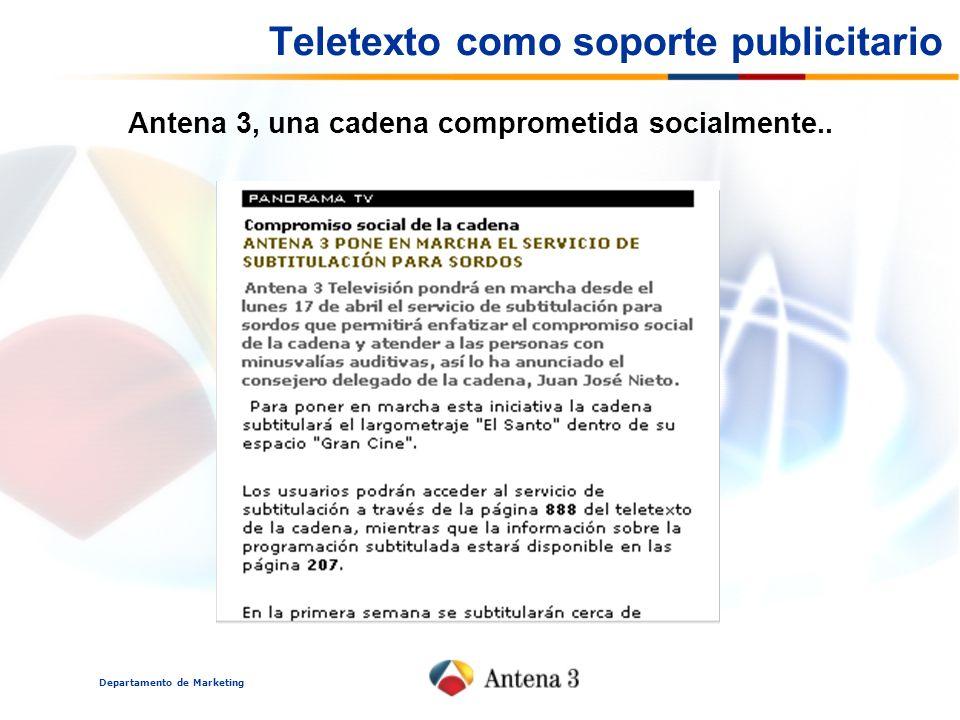 Teletexto como soporte publicitario