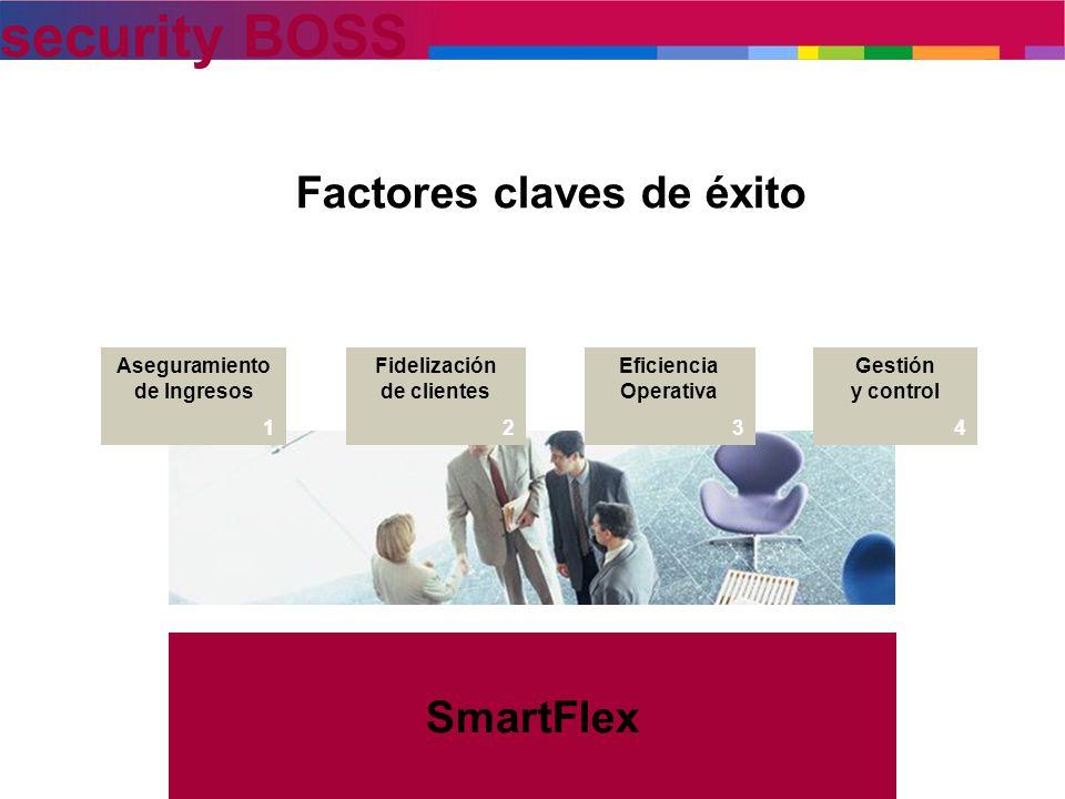 Factores claves de éxito SmartFlex