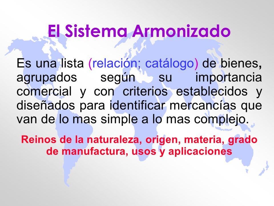 El Sistema Armonizado
