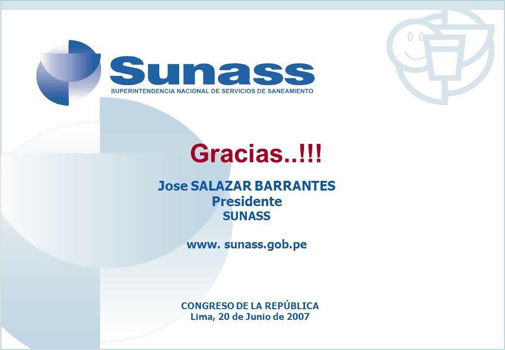 Jose SALAZAR BARRANTES CONGRESO DE LA REPÚBLICA