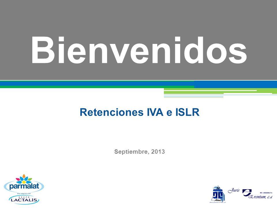 Retenciones IVA e ISLR Septiembre, 2013