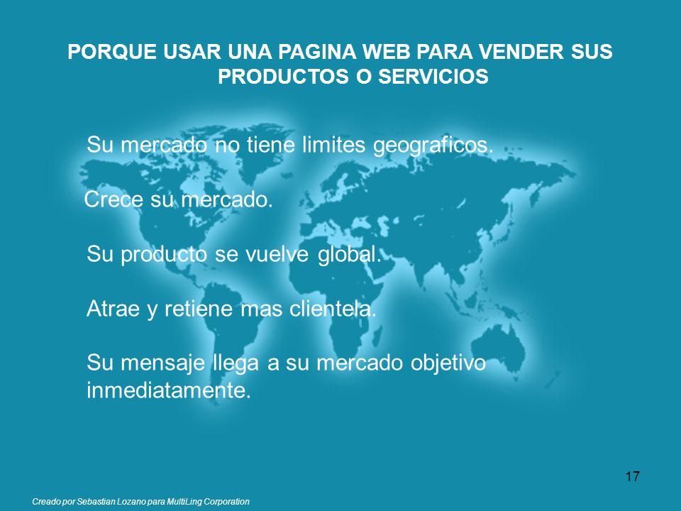 PORQUE USAR UNA PAGINA WEB PARA VENDER SUS PRODUCTOS O SERVICIOS