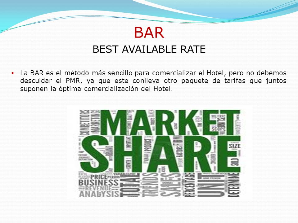 BAR BEST AVAILABLE RATE