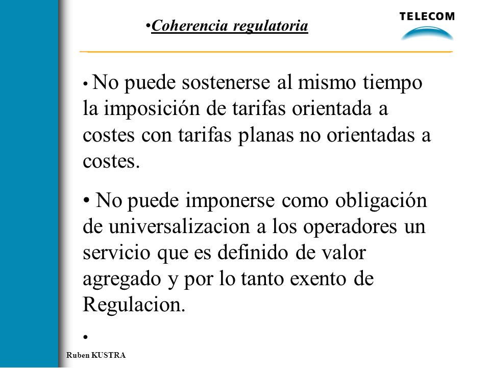 Coherencia regulatoria