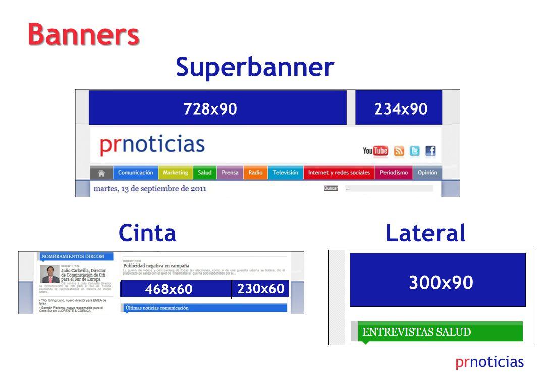 Banners Superbanner Cinta Lateral 300x90 728x90 234x90 prnoticias