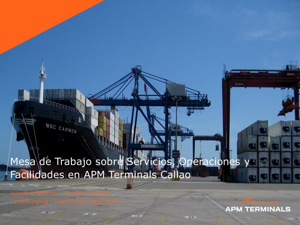 Mesa de Trabajo sobre Servicios, Operaciones y Facilidades en APM Terminals Callao