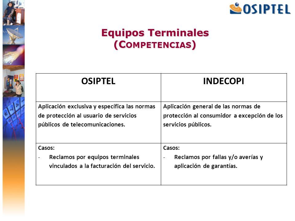 Equipos Terminales (Competencias)