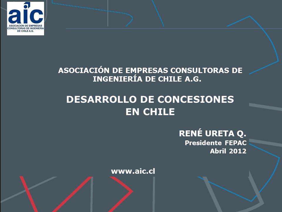 DESARROLLO DE CONCESIONES EN CHILE
