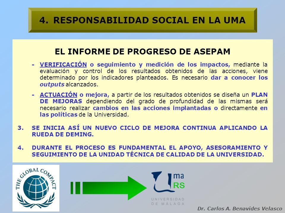 4. RESPONSABILIDAD SOCIAL EN LA UMA