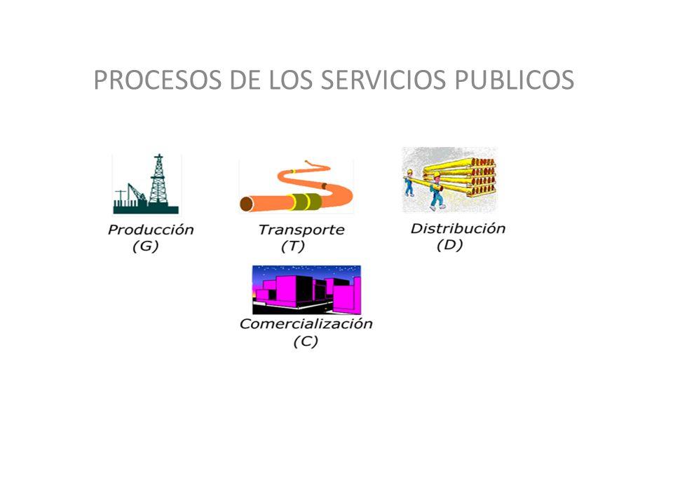 PROCESOS DE LOS SERVICIOS PUBLICOS