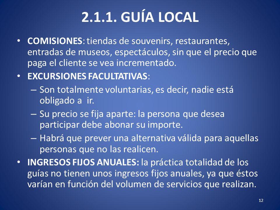 2.1.1. GUÍA LOCAL
