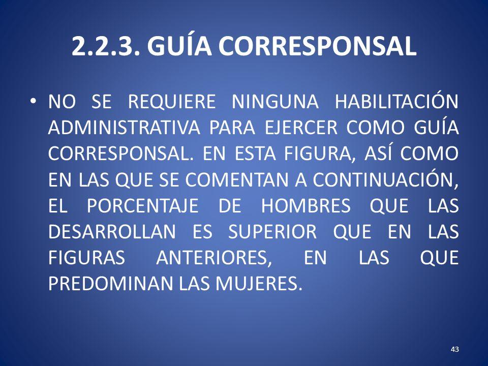 2.2.3. GUÍA CORRESPONSAL
