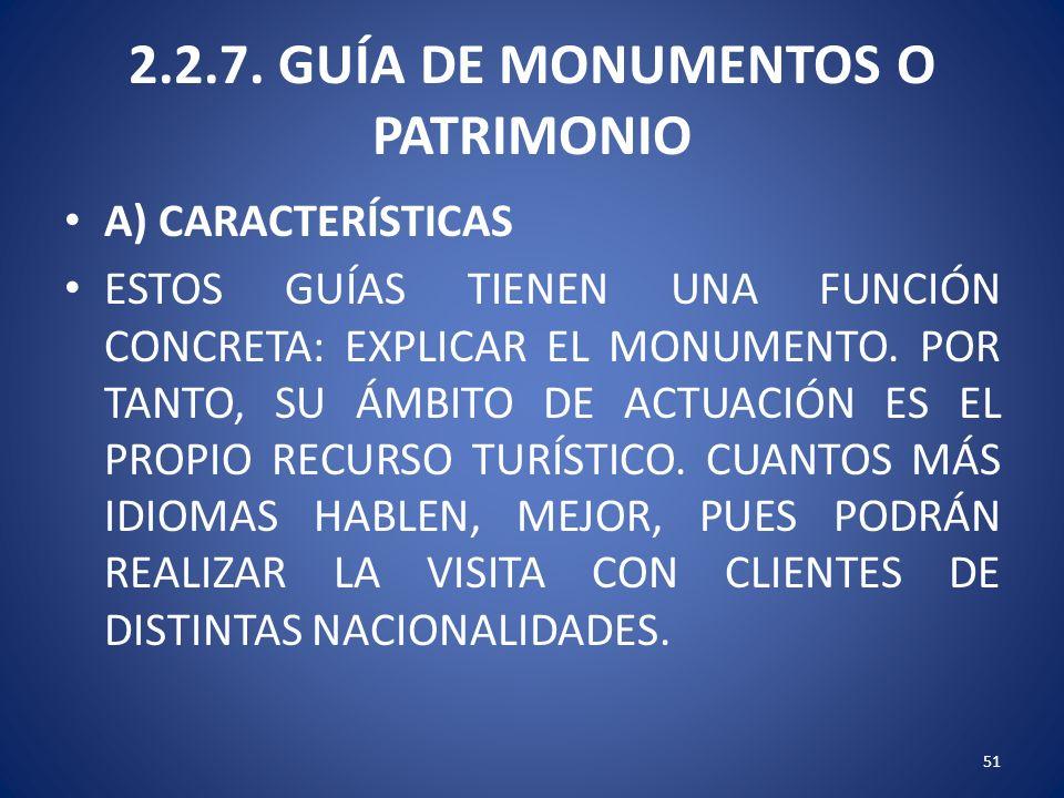 2.2.7. GUÍA DE MONUMENTOS O PATRIMONIO