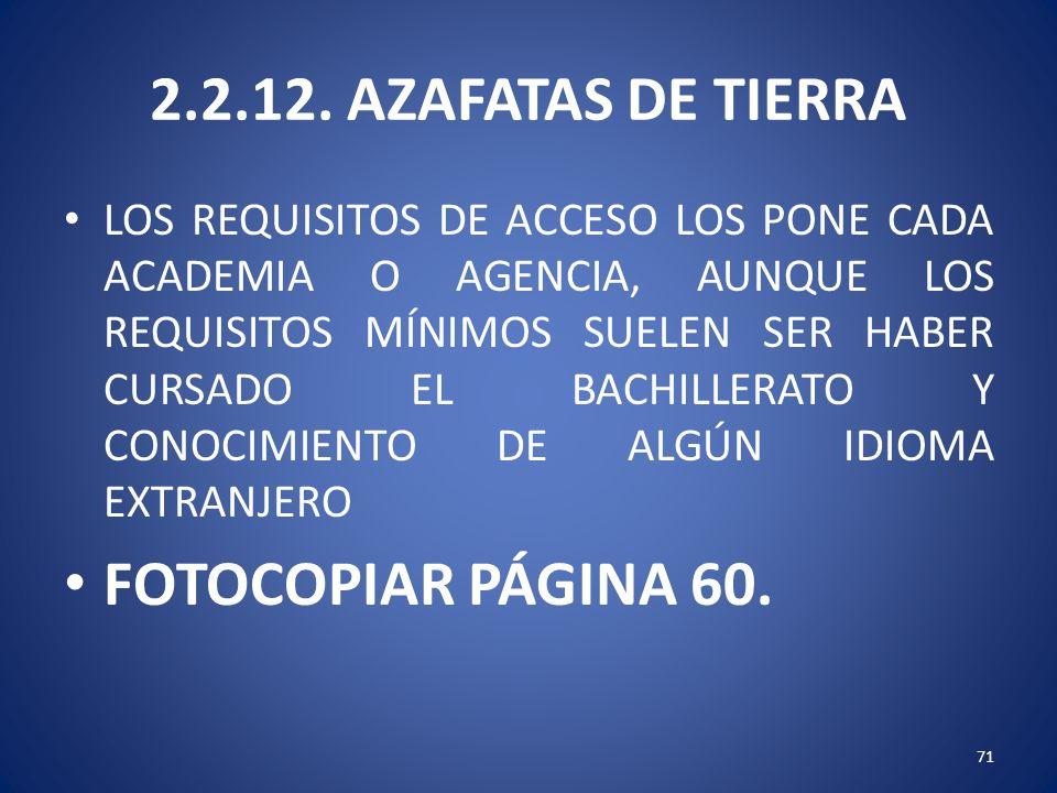 2.2.12. AZAFATAS DE TIERRA FOTOCOPIAR PÁGINA 60.