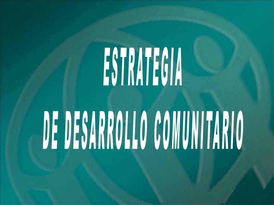DE DESARROLLO COMUNITARIO